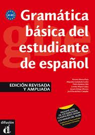 - Gramática Básica del Estudiante de Español