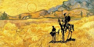 Don Quijote - Van Gogh